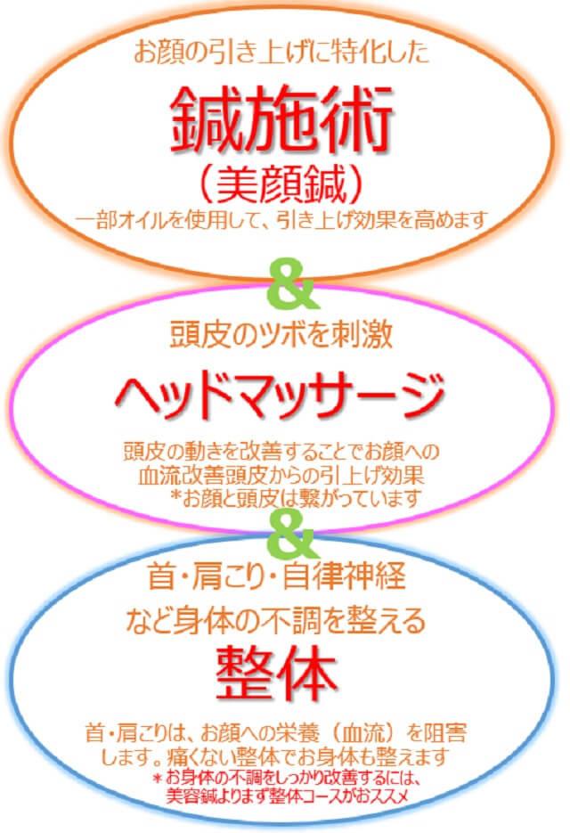 レメディの美容鍼 3つの特徴