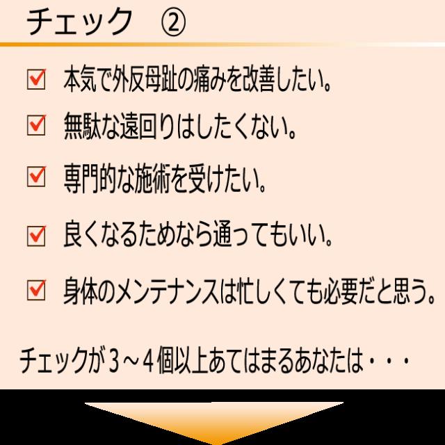 チェック 2