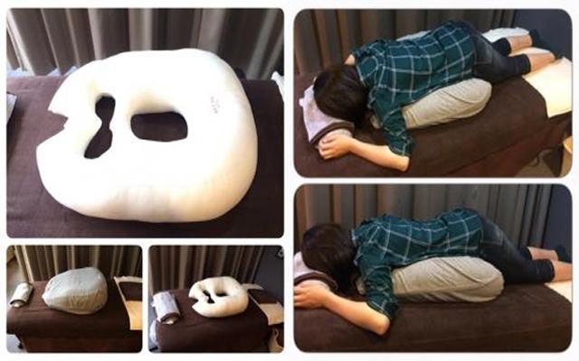 うつ伏せ枕